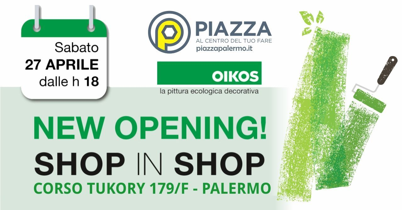 Pitture Per Interni Ecologiche piazza inaugura lo showroom oikos | blog e new piazza